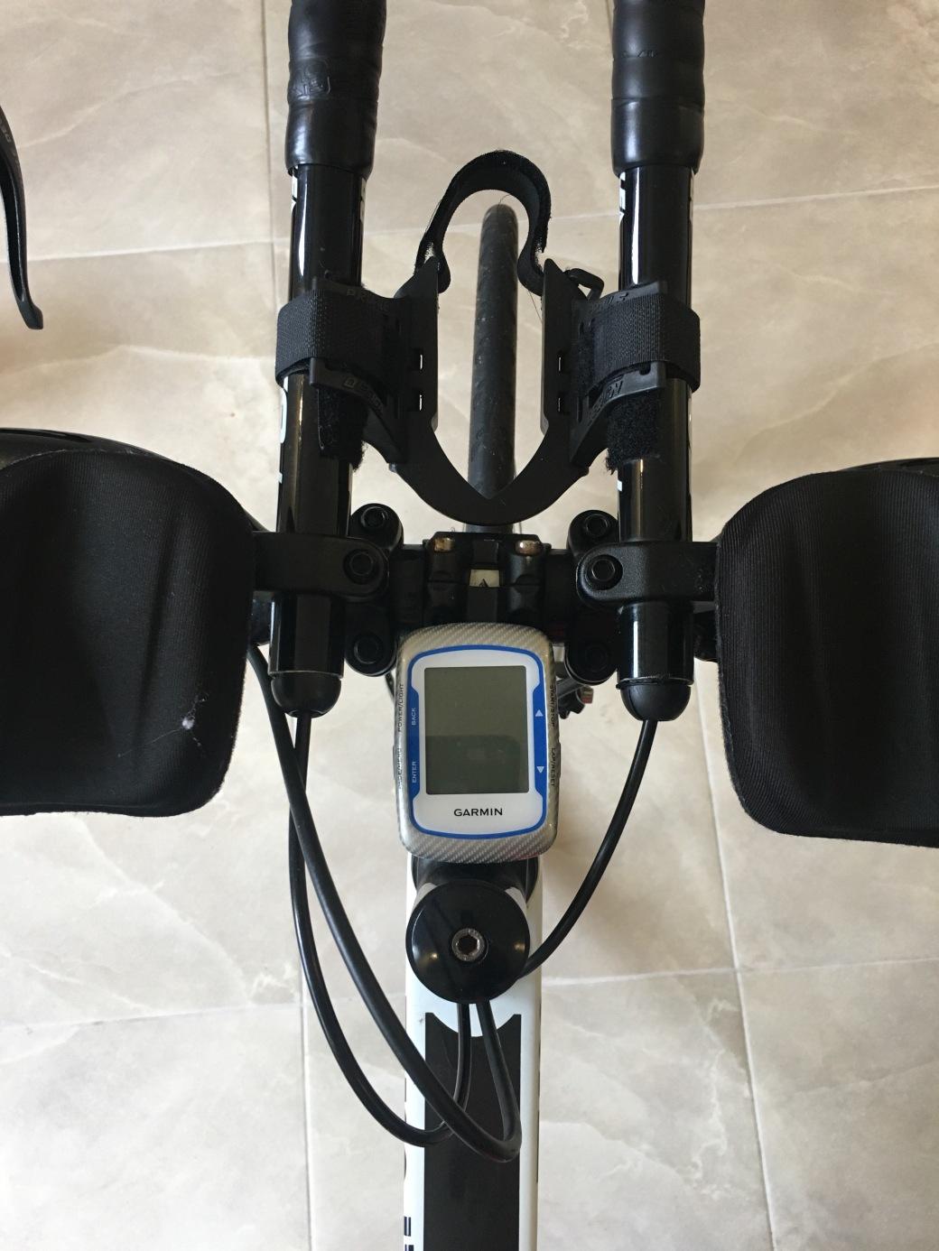 Garmin Edge 500, installed